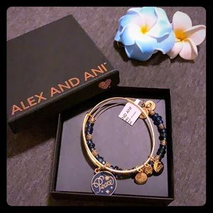 Alex and Ani Peace set of 2 Bracelet